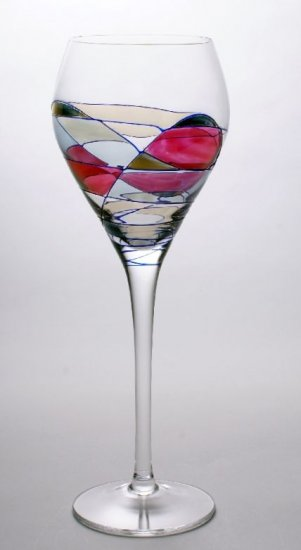 Milano Crystal Wine Goblets set of 4