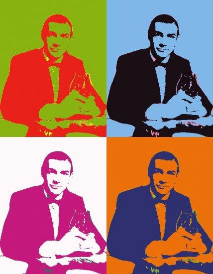8x10 James Bond 007 Sean Connery poster