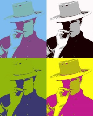 16x24 Clint Eastwood-1 Pop Art Poster