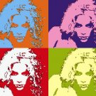 8x10 Shakira Popart Print Celebrity Pop Art Picture
