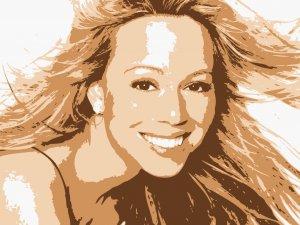 8x10 Mariah Carie Popart Print Celebrity Pop Art Picture