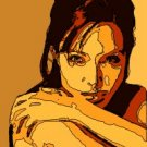 8x10 Angelina Jolie Popart Print Celebrity Pop Art Picture