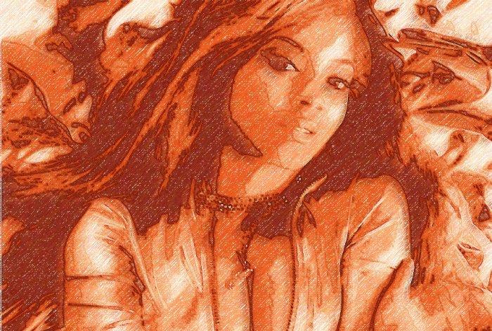 8x10 Beyonce Knowles Popart Print Celebrity Pop Art Picture