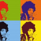 8x10 Jimi Hendricks Popart Print Celebrity Pop Art Picture Limited Edition