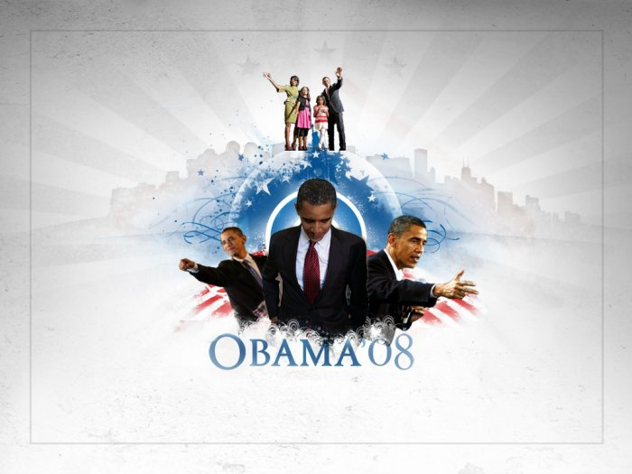 8x10 BARACK OBAMA 1ST FAMILY POSTER COLLECTIBLE RARE ART