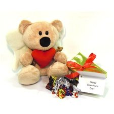 "Valentines Day 10"" Hilbert Cupid Bear Package."