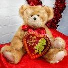 Valentine's Stuffed Teddy Bear & Chocolates