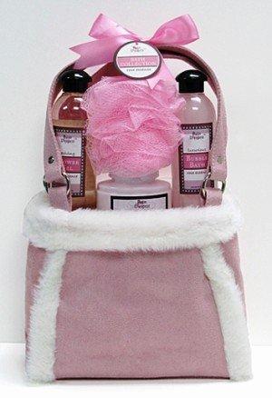 Rose Bain D'esprit Bath Collection in Suede Bag