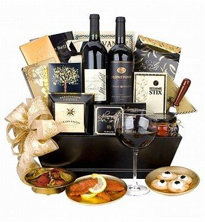 Extravagant Wine Lovers & Gourmet Basket