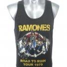 Ramones    Rockers Tank Top   M-L   free shipping