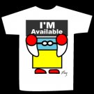 T-shirt I'M Available design