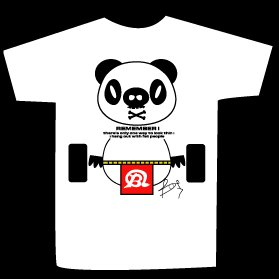 T-shirt WEIGHT PANDA design