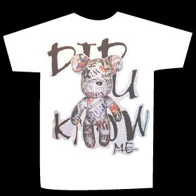 T-shirt DID U KNOW ME design