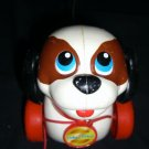 Fisher Price Pull Along Dog #2253 1993 Walking Toy