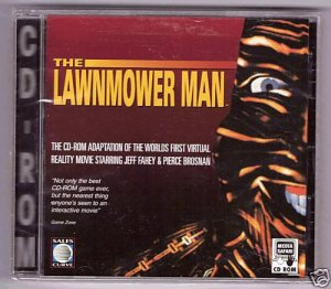 THE LAWNMOWER MAN PC Game CD-ROM � Shrink Wrapped