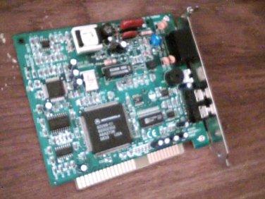 MOTOROLA WIN5601/5602 56K Data/Fax/Voice Modem PCI Card