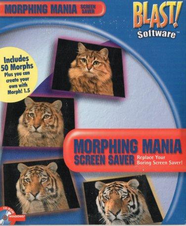 BLAST! Morphing Mania Screen Saver CD-ROM