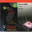 McGraw Hill : Focus on Health Fifth Edition by Hahn / Payne CD-ROM