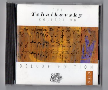 ( USED ) CBS Records : TCHAKOVSKY - The Cadenza Collection Deluxe Edition Music CD