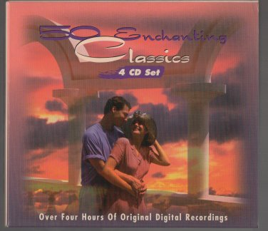 ( USED ) Otello : 50 Enchanting Classics ( 4 CD Set ) Four Hours of Original Digital Recording