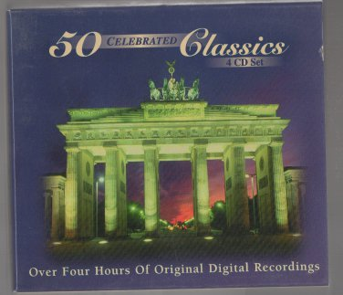 ( USED ) Otello : 50 Celebrated Classics ( 4 CD Set ) Four Hours of Original Digital Recordings