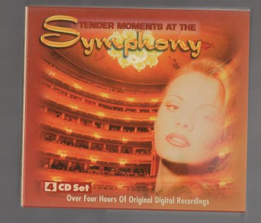 ( USED ) Otello : Tender Moments at The Symphony ( 4 CD Set ) Original Digital Recordings
