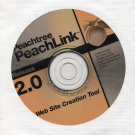 ( USED ) Peachtree PeachLink 2.0 Web Site Creation Tool CD-ROM + User's Guide
