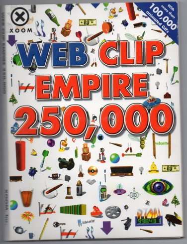( USED ) XOOM Web Clip Empire 250,000 ( Set of 12 CD-ROM )