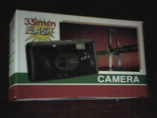 ( NEW In Box ) Model No. SPCAMSIL 35 mm Built In Flash Focus Free Camera