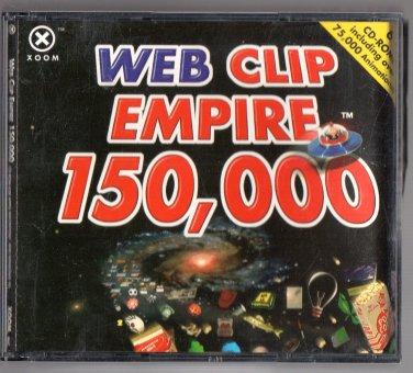 ( USED ) XOOM Web Clip Empire 150,000 ( Set of 6 CD-ROMs )