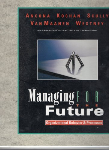 ( USED ) 1996 Scully & Westney : Managing for Future ( Modules 1 - 13 with Binder )