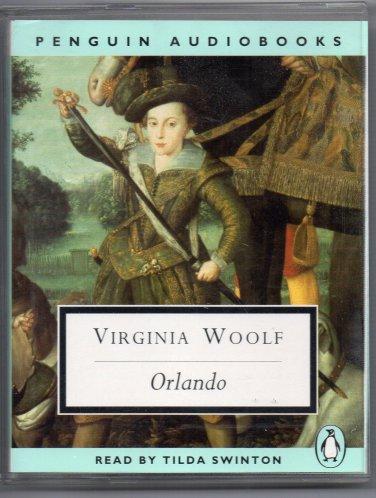 ( USED ) PENGUIN AudioBooks : Virginia Woolf - Orlando ( Set of 2 Audio Cassettes )