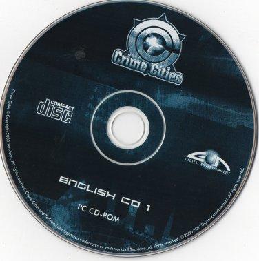 ( USED ) Crime Cities : English CD 1 + Generic CD 2 ( PC CD-ROM )