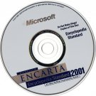 ( USED ) Microsoft Encarta Encyclopedia Standard 2001 + Encarta Encyclopedia 98 ( PC CD-ROM )
