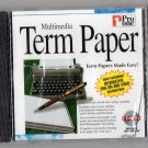 ( NEW Shrink Wrapped ) Pro One Multimedia Term Paper ( PC CD-ROM )