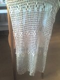 silk crochet shawl