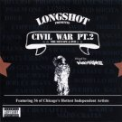EVP023CD - Longshot - Civil War Pt. 2 (CD) EV PRODUCTIONS
