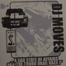 "FU018 - DJ Moves - A Sad State Of Affairs (aka. The Truro Drag Race) (7"") BULLY RECORDS"