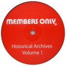 "MO1 - Various - Historical Archives Volume 1 (12"") MEMBERS ONLY"