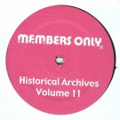 "MO11 - Various - Historical Archives Volume 11 (12"") MEMBERS ONLY"