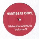 "MO9 - Various - Historical Archives Volume 9 (12"") MEMBERS ONLY"