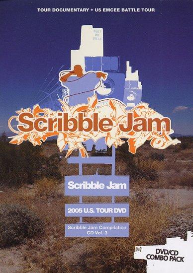 SCRIBTOUR2005DVD - Various - Scribble Jam 2005 Tour (DVD/CD) *SCRIBBLE JAM