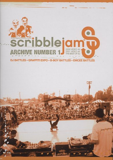 SCRIBARC01DVD - Various - Scribble Jam Archive Vol 1 (DVD) *SCRIBBLE JAM