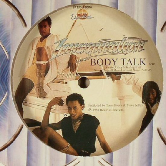 "SPEC1806 - Imagination - Body Talk (12"") *UNIDISC"