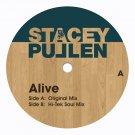 """BFR005 - Stacey Pullen - Alive (12"""") BLACK FLAG"""