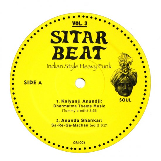 "GR6LP - Various - Sitar Beat Vol. 3 (12"") *GUERILLA REISSUES"