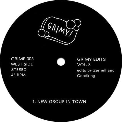 "GRIME003 - Various - Grimy Edits Vol. 3 (12"") *GRIMY EDITS"