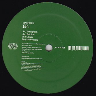 """DRH032 - Marcelus - EP 1 (12"""") *DEEPLY ROOTED HOUSE"""