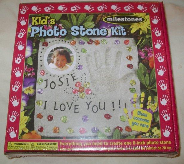 Milestones Kid's Photo Stone Kit