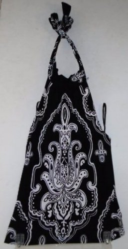 WHITE HOUSE BLACK MARKET SIGNATURE KNIT HALTER TOP Size Small Imperial Design